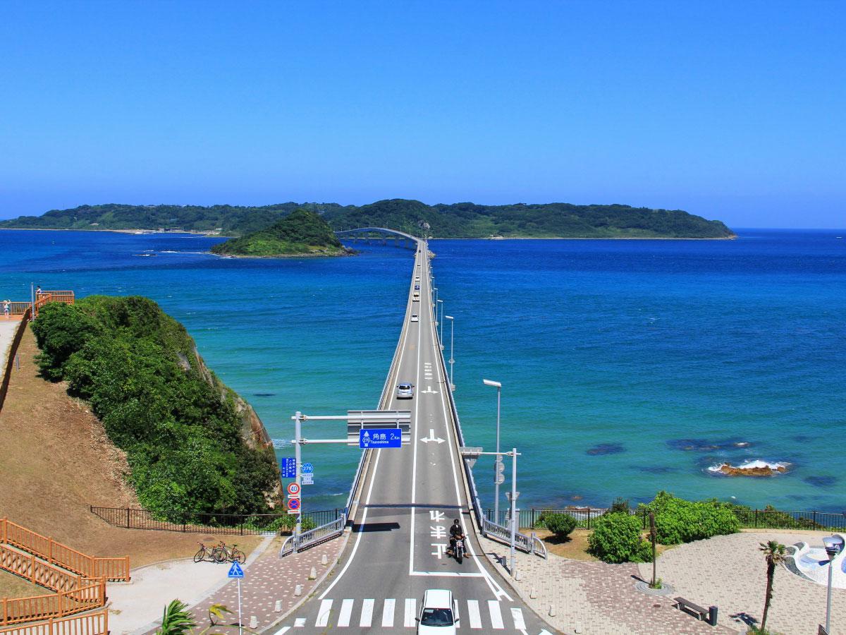 日本の絶景7、山口県・角島大橋