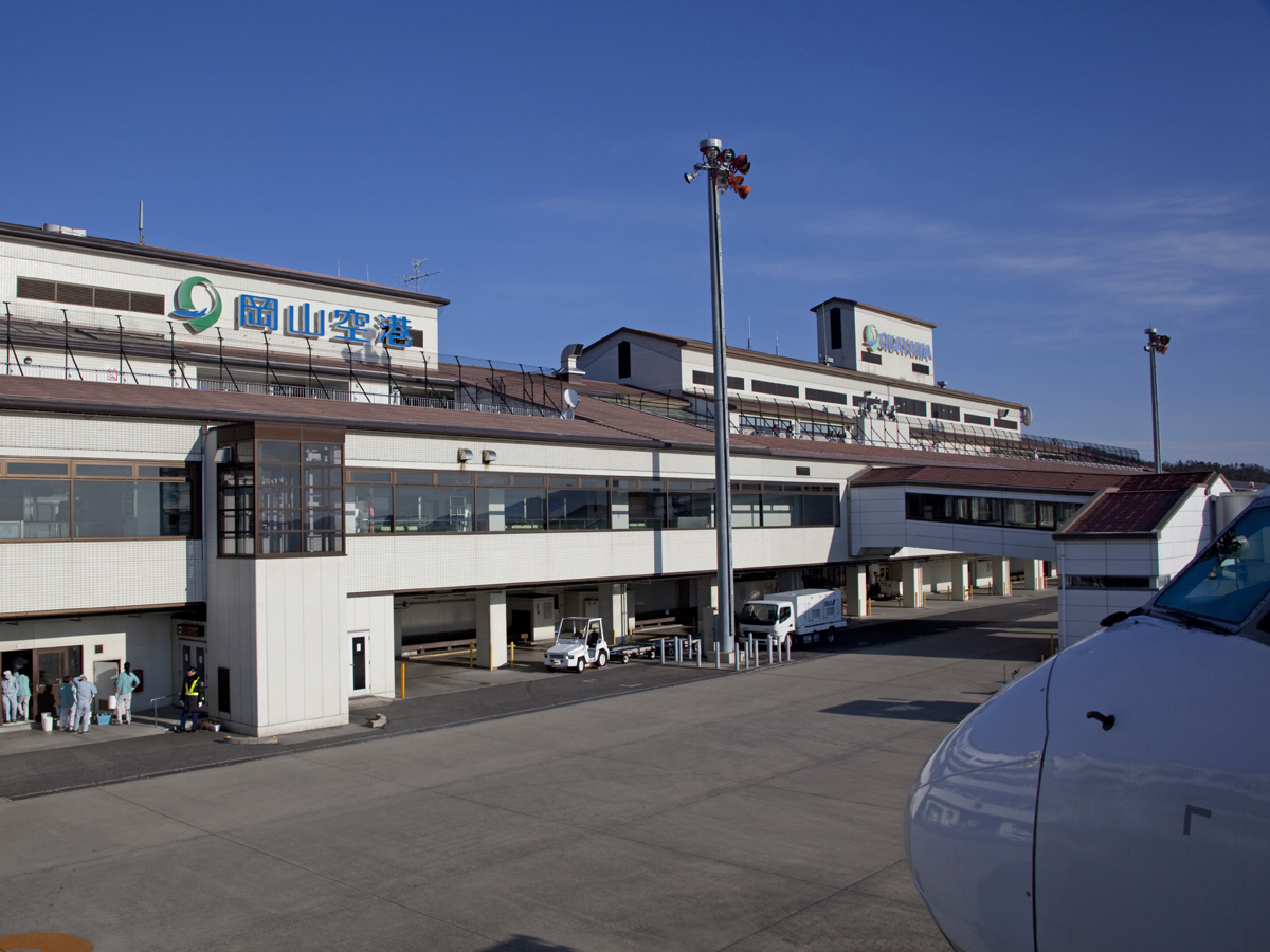 Okayama Momotaro Airport_1