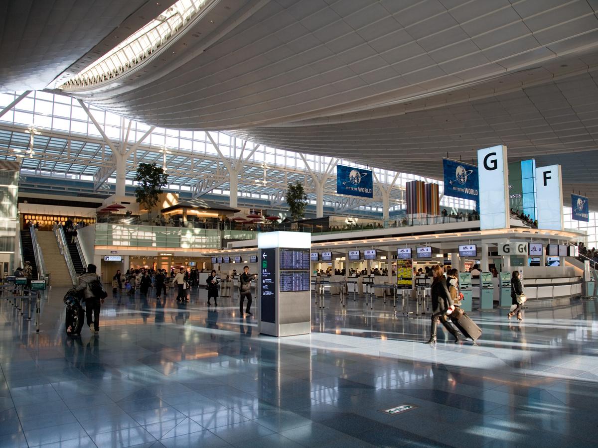Aeroporto Tokyo : Haneda airport chugoku+shikoku tokyo