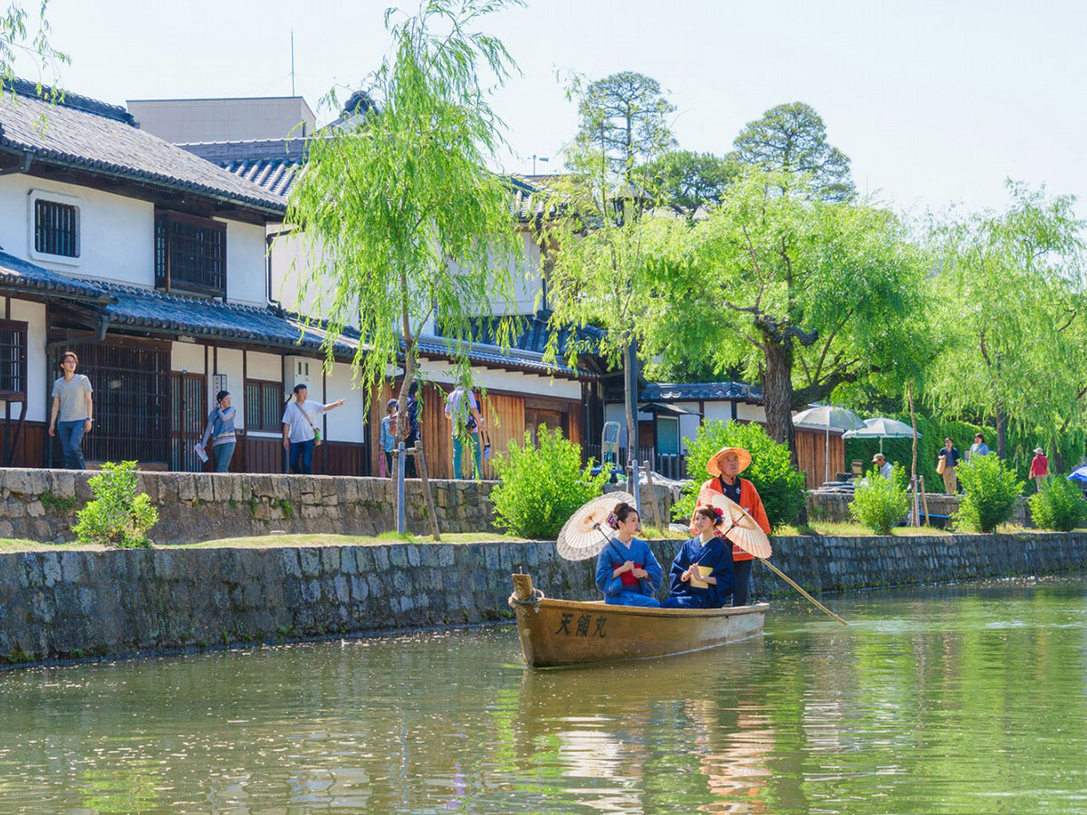 Traditional Boat Tour of Kurashiki Canal_2