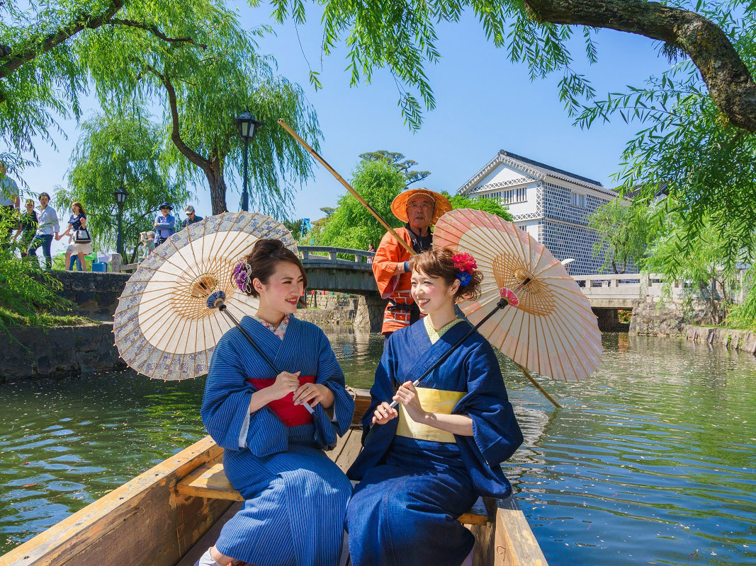 Traditional Boat Tour of Kurashiki Canal_4