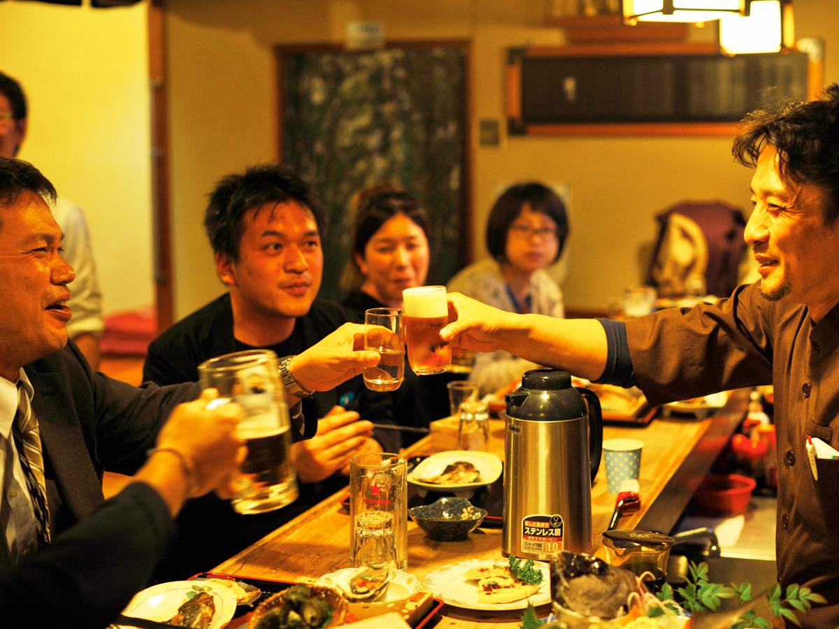 Japanische Herbergen und Gasthöfe auf den Inseln_3