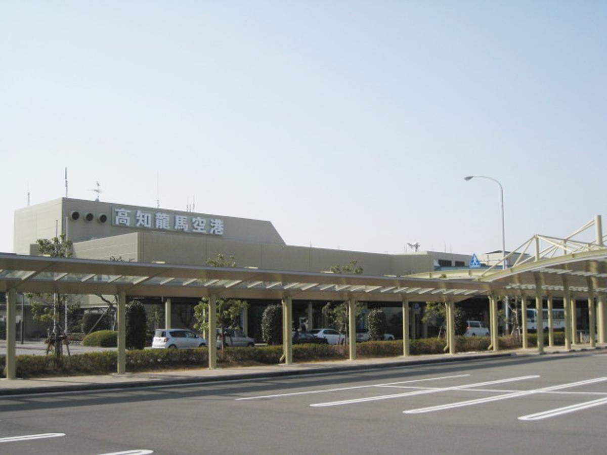 Flughafen Kochi Ryoma_1