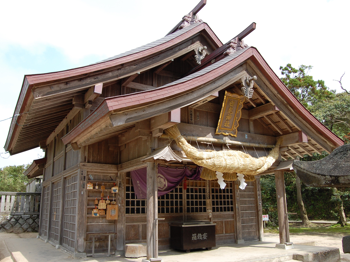 Hakuto Shrine and the Hakuto Coast _1