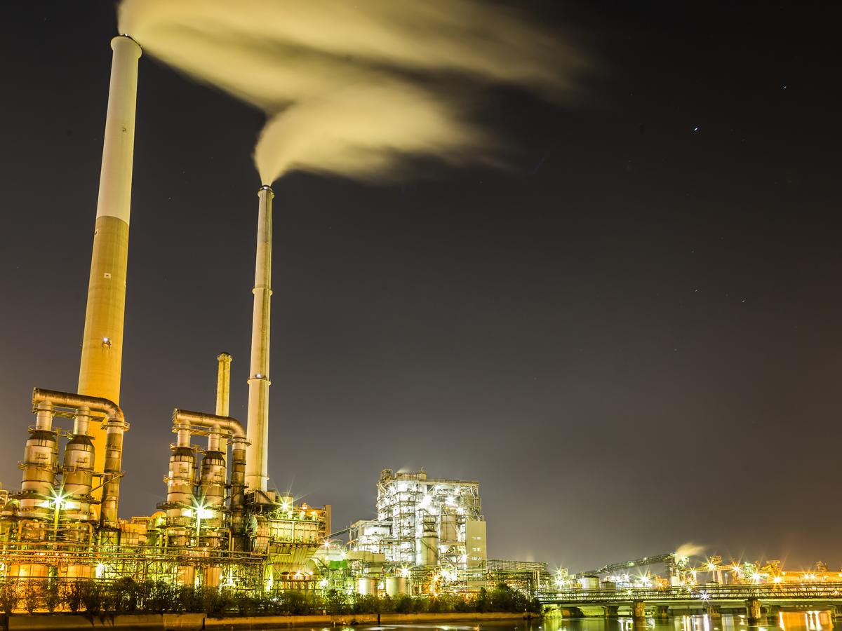 Paisajes Industriales Nocturnos de Shunan_1
