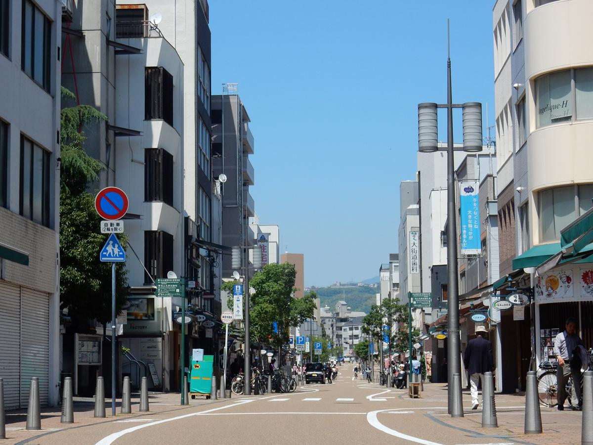 Ropeway Street, Okaido und Gintengai_2
