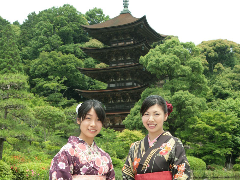 Rental Kimonos at Saikoutei_1