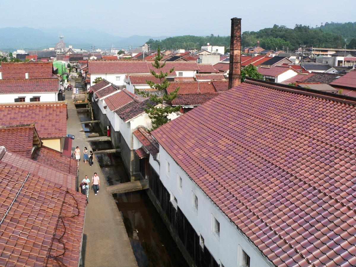 Quartier des entrepôts blancs et Akagawara_1