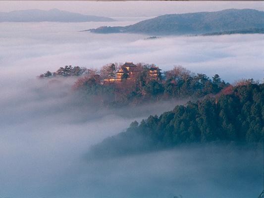 备中松山城
