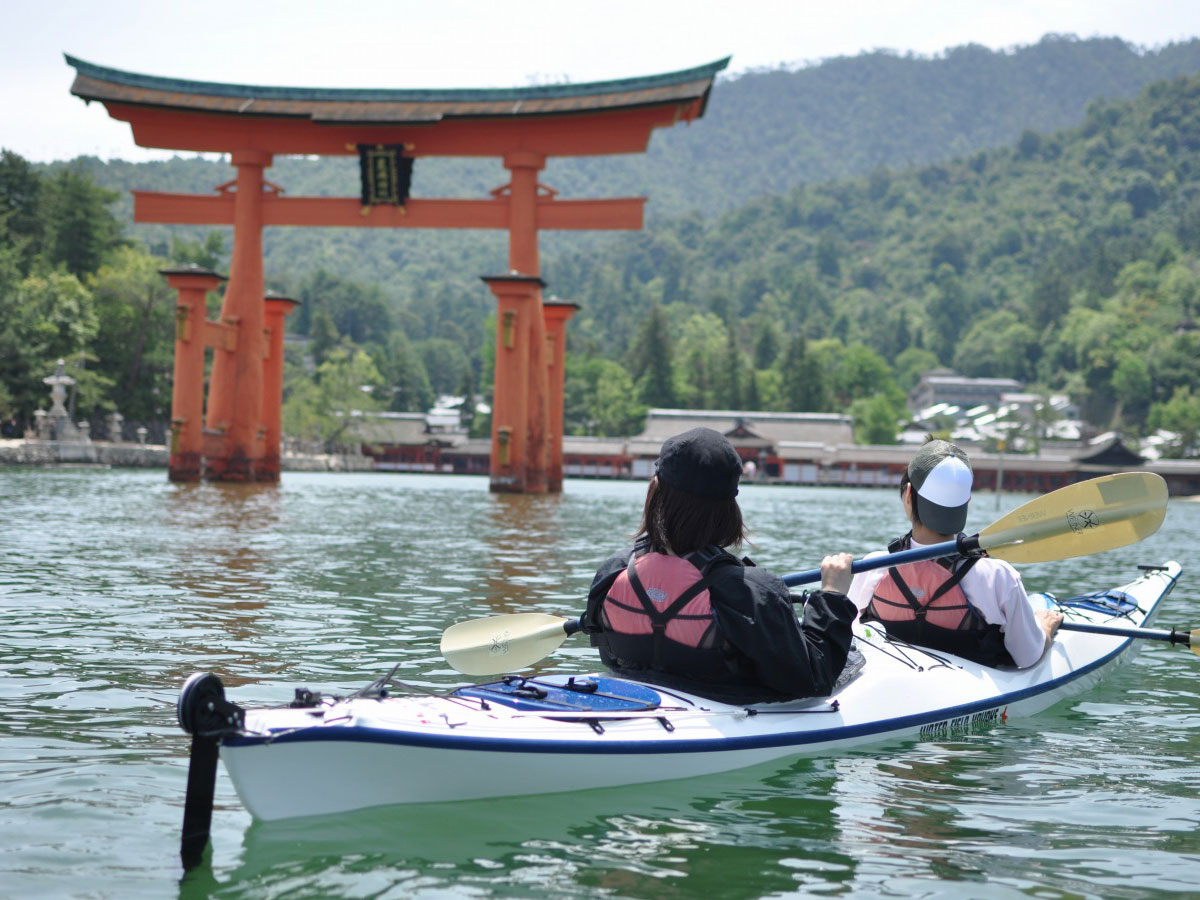 Miyajima Sea Kayaking