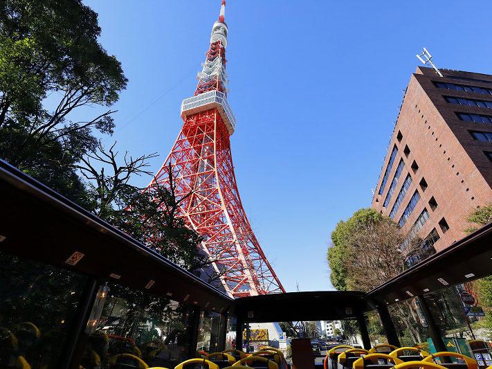 Tour des panoramas de Tokyo en bus