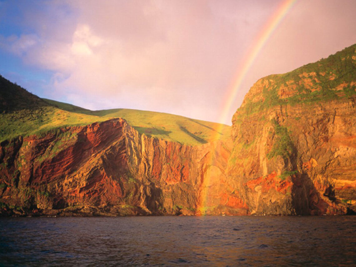 Oki Islands UNESCO Global Geopark (Sekiheki(Red Cliff))