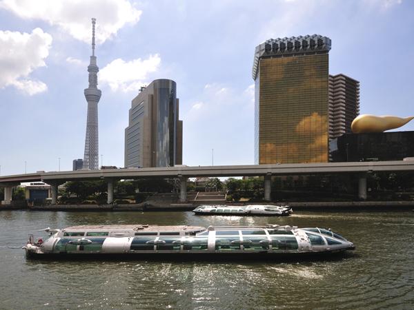 Fahrt auf dem Sumida-Fluss (Hotaluna)