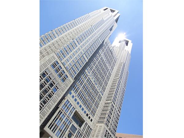 Aussichtsetage im Gebäude der Tokyo-Stadtverwaltung