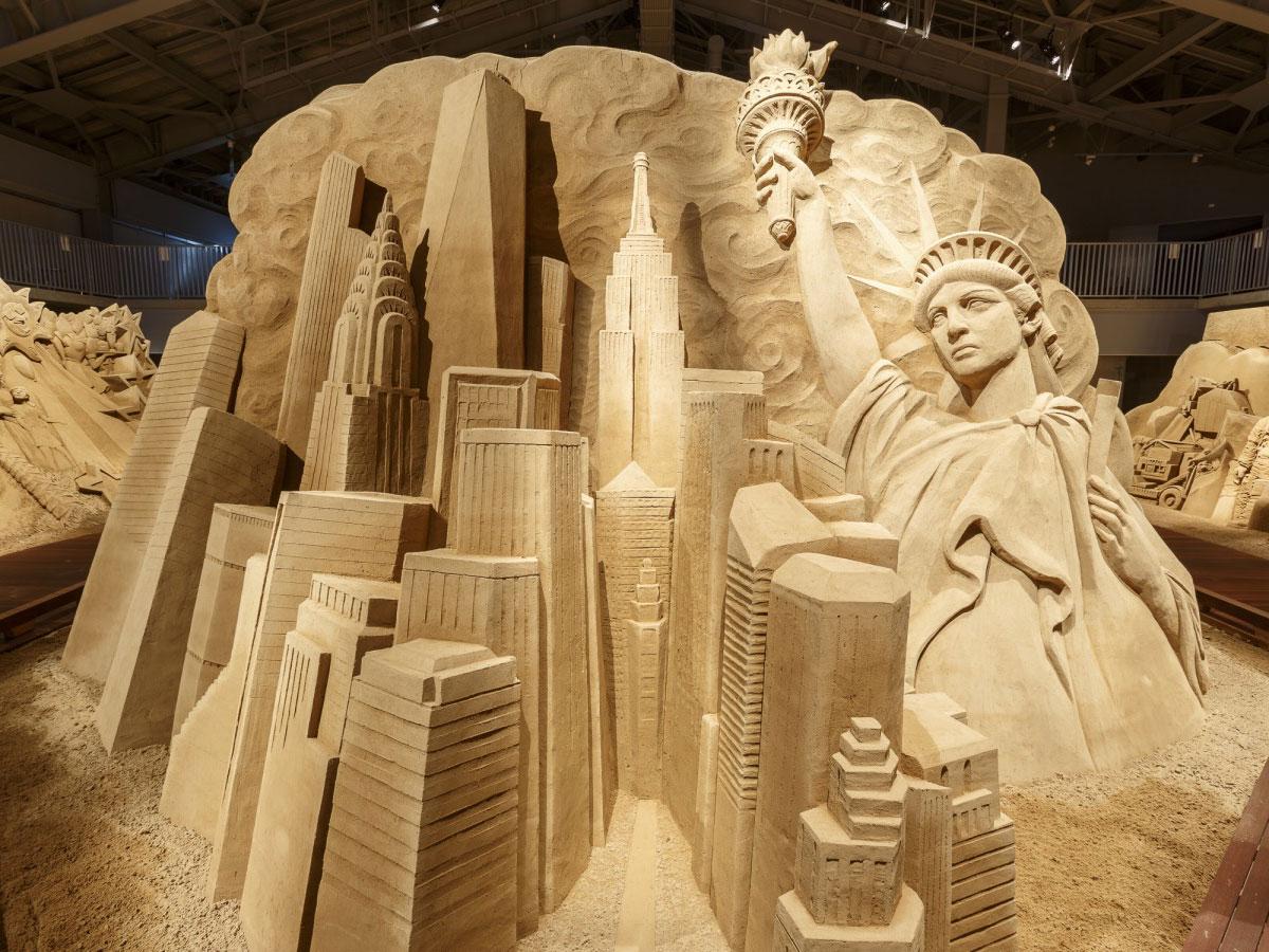 Tottori Sand Dunes, The Sand Museum_3