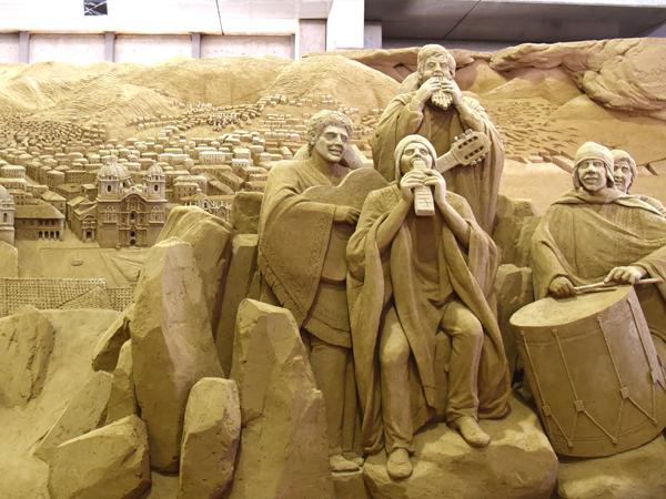 Tottori Sand Dunes, The Sand Museum_4