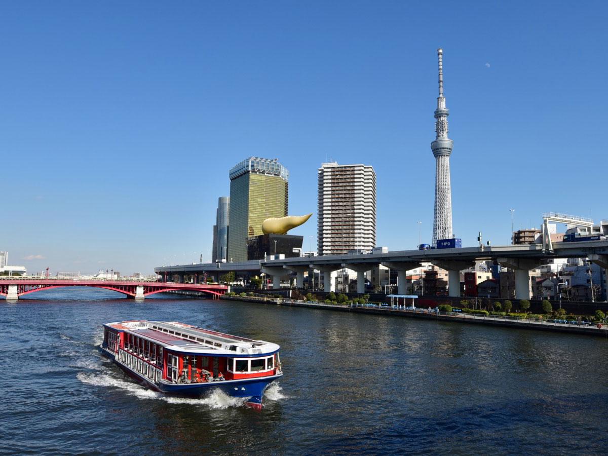 Wasserbus<br>(Tokyo-Kreuzfahrt)