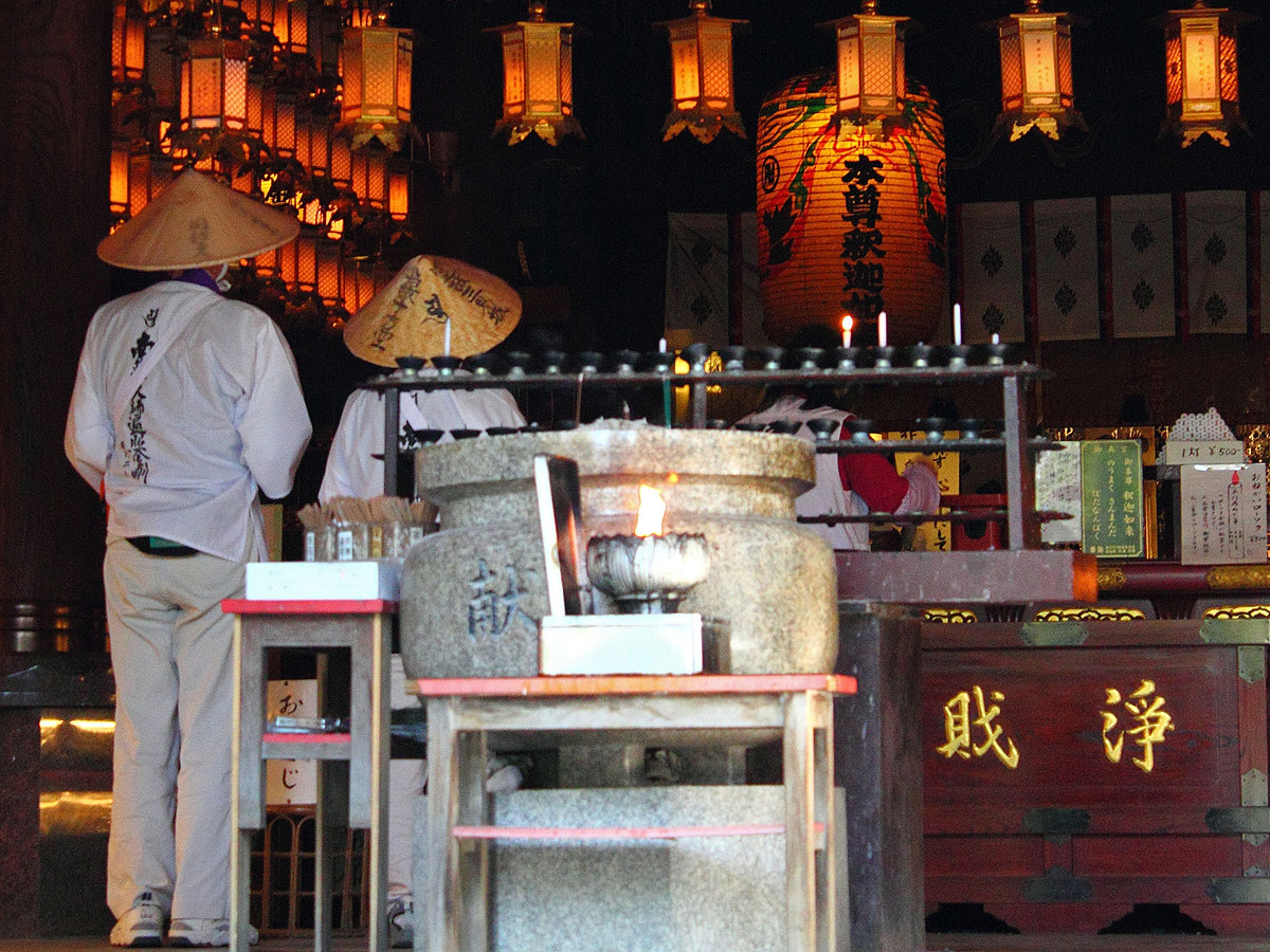 Ryozen-ji, the first temple of the pilgrimage circuit_4
