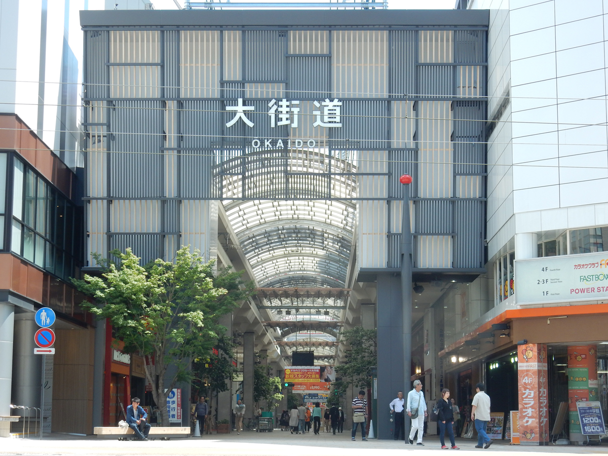 Ropeway Street, Okaido, and Gintengai_1