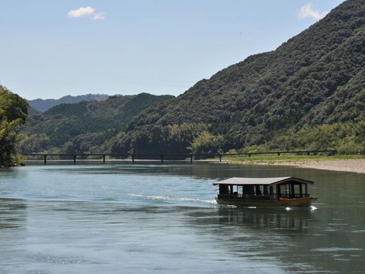 Shimanto River sightseeing boats_2