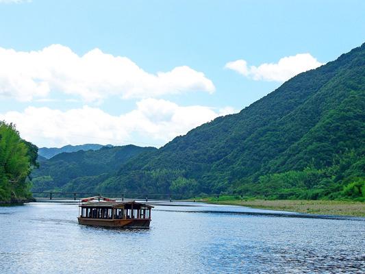 Shimanto River sightseeing boats_3