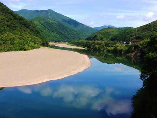 Fluss Shimanto