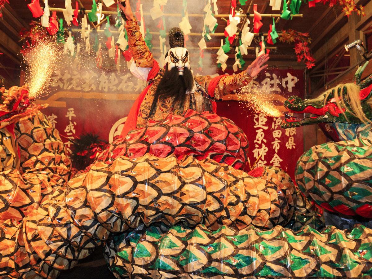 Iwami Kagura Traditional Dance_3