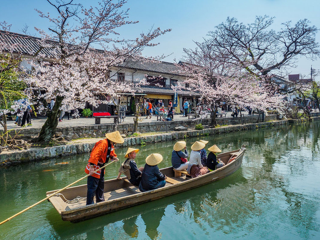 Traditional Boat Tour of Kurashiki Canal_1