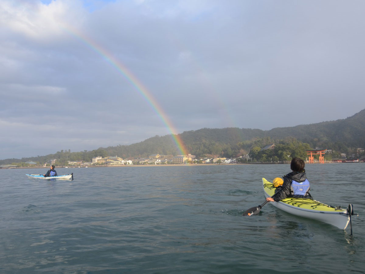 Miyajima Sea Kayaking_3