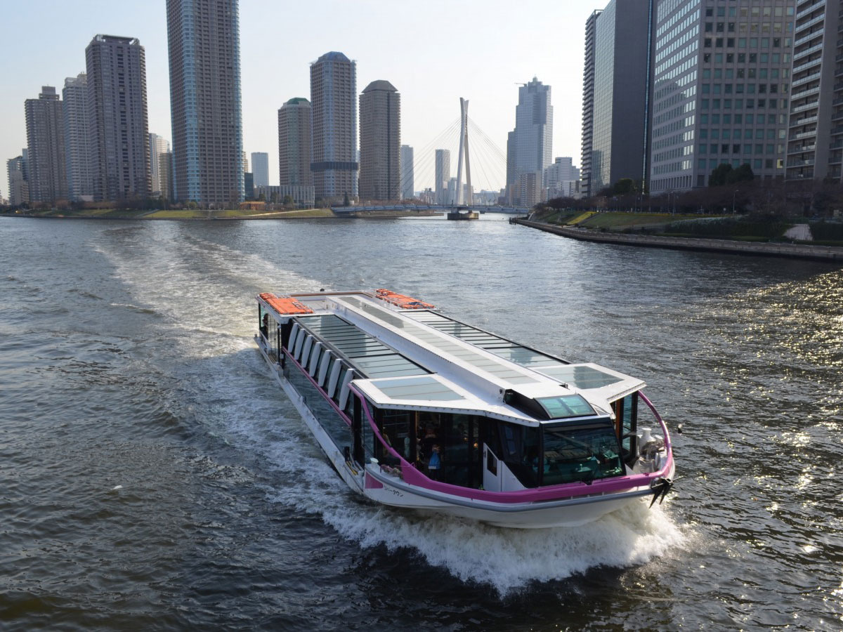 Water Bus<br>(Tokyo Cruise Ship)_2