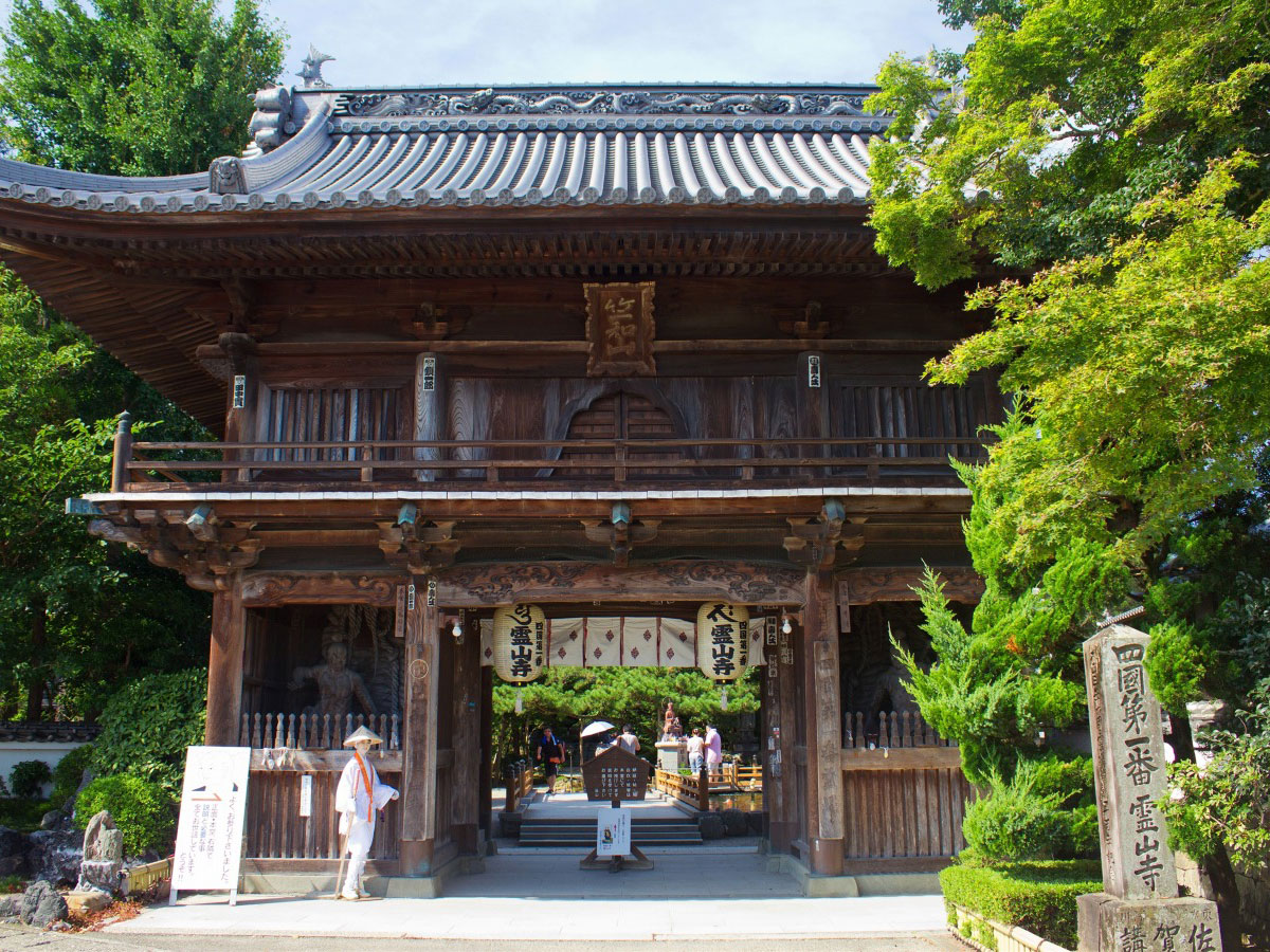 Ryozen-ji, the first temple of the pilgrimage circuit_1