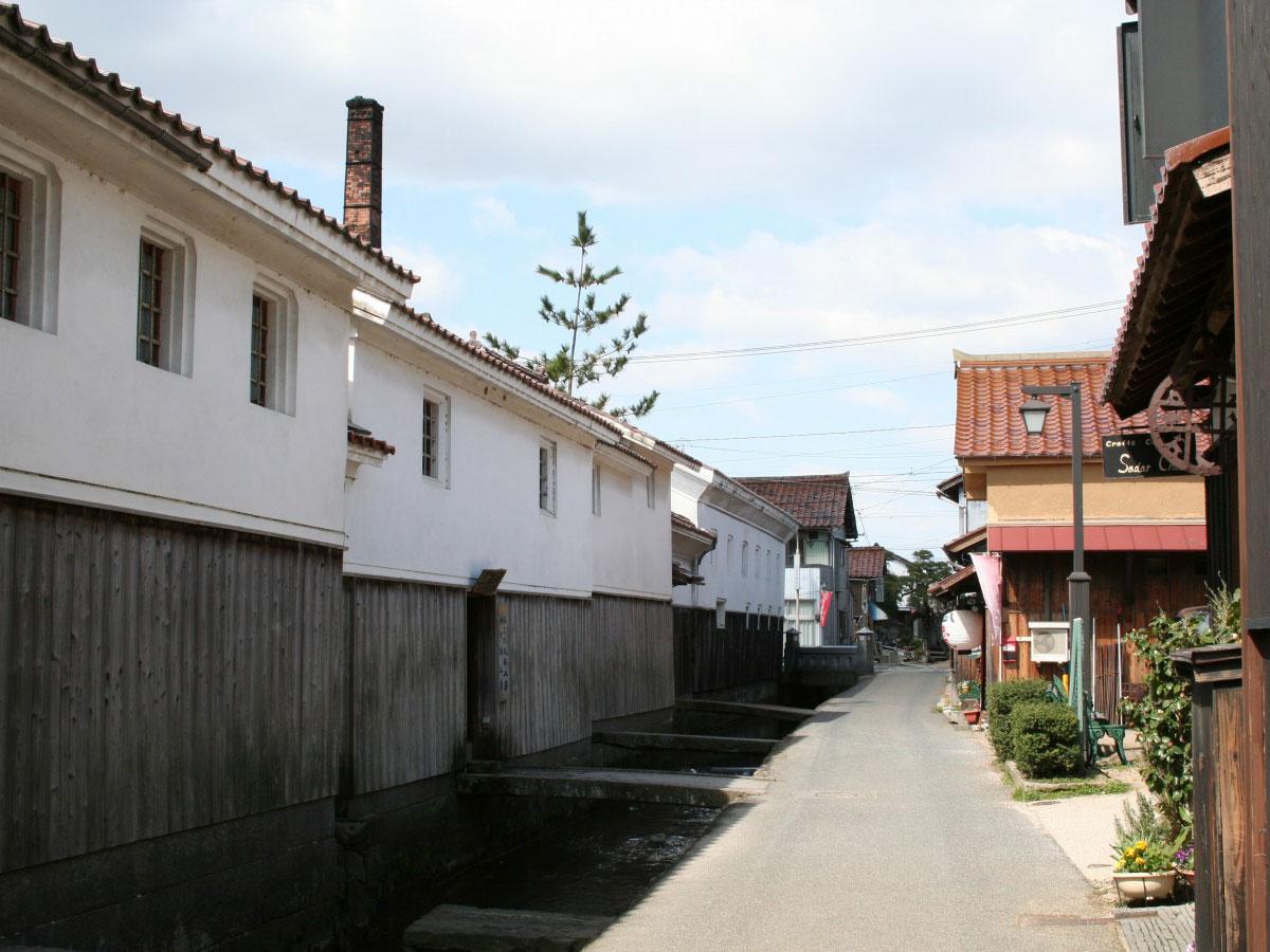 Quartier des entrepôts blancs et Akagawara_2